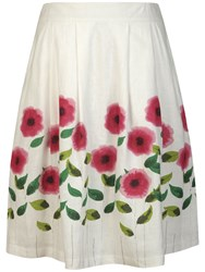 Seasalt Palette Skirt Painted Flower Salt
