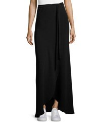 Theory Amaning Admiral Crepe Maxi Skirt Black