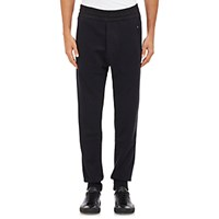 Acne Studios Men's French Terry Johna Sweatpants Black Blue Black Blue