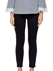 Ted Baker Massiee Embroidered Jeans Navy