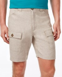 Tasso Elba Men's Utility Shorts Only At Macy's Natural Combo