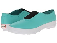 Hunter Plimsole Tourmaline Green Women's Flat Shoes