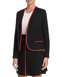 Paule Ka Piped Blazer Noir