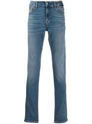 7 For All Mankind Slim Fit Ronnie Jeans Blue