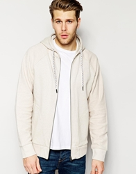 Native Youth Multi Fleck Reverse Hoodie Stone