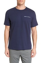 Under Armour Men's Charged Cotton T Shirt Midnight Navy Steel