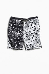 Katin Tile Split Hybrid Short Black Multi