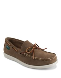 Eastland Yarmouth 1955 Suede Boat Shoes Khaki