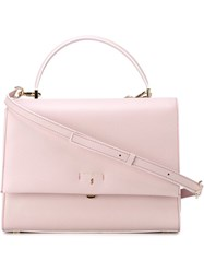 Serapian 'Audrey' Tote Pink And Purple