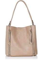 Oasis Hettie 2 Zip Hobo Bag Camel