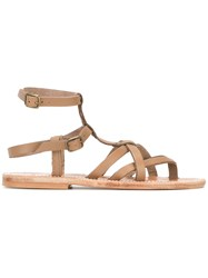K. Jacques Larissa Sandals Grey
