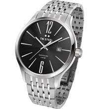Tw Steel Tw1306 Slim Line Stainless Watch Stainless Steel