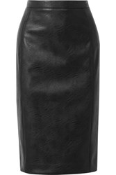 Stella Mccartney Faux Leather Skirt Black