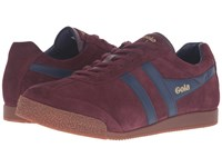 Gola Harrier Burgundy Navy Men's Shoes