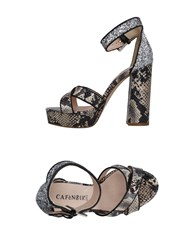 Cafe'noir Cafenoir Sandals Beige