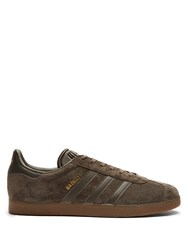 Adidas Gazelle Suede Trainers Brown