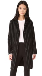 Rag And Bone Sidney Reversible Coat Black White
