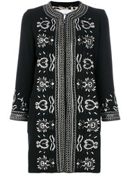 Bazar Deluxe Embroidered Jacket Black