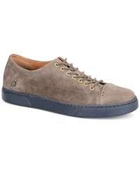 Born Men's Bayne 7 Eye Cap Toe Sport Oxford Sneakers Men's Shoes Gray