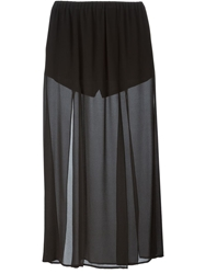 Michael Michael Kors Sheer Maxi Skirt