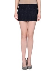 Coming Soon Mini Skirts Dark Blue