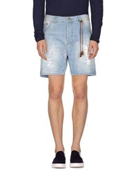 Yes London Denim Denim Bermudas Men
