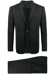 Tonello Slim Fit Formal Suit Black