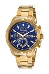 Invicta Men's Specialty 18K Gold Plated Stainless Steel Watch Metallic