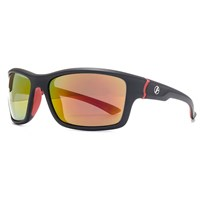 Freedom 26Frg145410 Blk And Red Rubber Sunglasses
