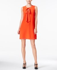 Maison Jules Bow Detail Shift Dress Only At Macy's Loving Red