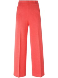 M Missoni Cropped Trousers Pink Purple