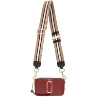 Marc Jacobs Red And Burgundy Small Snapshot Camera Bag