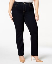 Inc International Concepts Plus Size Straight Jeans Created For Macy's Tikglo