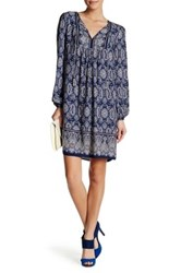 Max Studio Tassel Tie Paisley Dress Multi