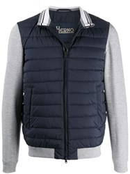 Herno Contrasting Sleeves Padded Gilet 60