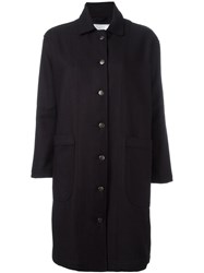 Societe Anonyme 'Jap Trench' Overcoat Blue
