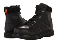 Harley Davidson Pete Black Men's Work Lace Up Boots