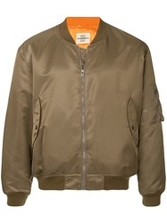 Kent And Curwen Bomber Jacket Green