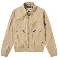 Polo Ralph Lauren Vintage Us Bomber Jacket Neutrals