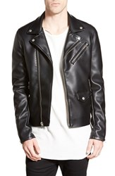 Men's Members Only Faux Leather Moto Jacket