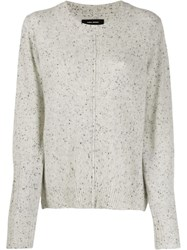 Isabel Marant Cashmere Chinn Sweater Grey