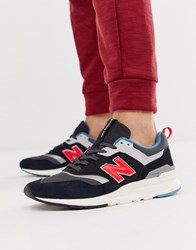 New Balance 997 Sneakers In Black Black