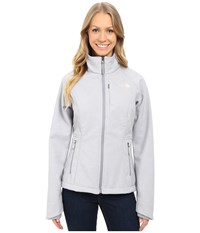 The North Face Apex Bionic Jacket Tnf Light Grey Heather Mid Grey Purdy Pink Women's Coat Gray