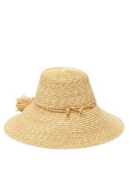 Lola Hats Re Rope Conical Straw Hat Beige