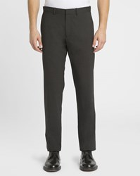 Theory Charcoal Marlo Regular Fit Suit Trousers Grey