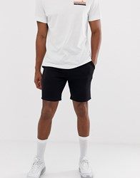New Look Jersey Shorts In Black