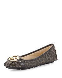 Fulton Cheetah Mesh Moccasin Brown Michael Michael Kors