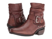 Wolky Koppen Cognac Mighty Greased Women's Pull On Boots Brown