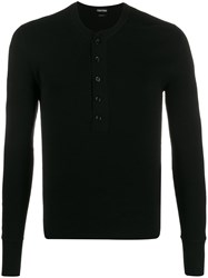 Tom Ford Button Down Long Sleeve T Shirt 60