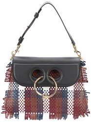J.W.Anderson Woven 'Pierce' Bag Women Leather One Size Black